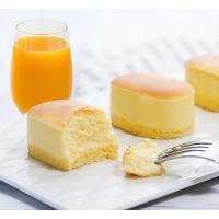 原味半熟芝士蛋糕配鲜榨橙汁套餐