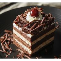 经典黑森林切块蛋糕