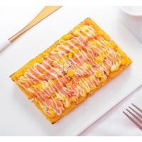 黄金火腿披萨面包