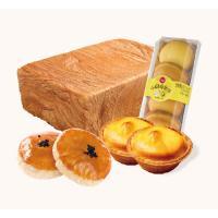 超级套餐(乳酪金砖面包1个+小圆蜂蜜蛋糕1盒+豆沙老婆饼1盒+流心芝士挞糕点1盒)